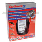 TecMate Optimate 3 akkumulátor töltő dobozban