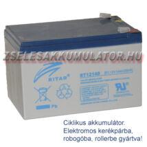 Ritar 12V 14Ah Ciklikus zselés akkumulátor elektromos kerékpárba