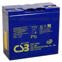 CSB 12V 24Ah Ciklikus zselés akkumulátor elektromos járműbe EVH12240