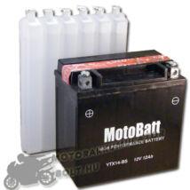 MotoBatt YTX14-BS 12V 12Ah Motor akkumulátor