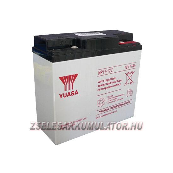 Yuasa 12V 17Ah Zselés akkumulátor