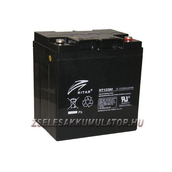 Ritar 12V 28Ah Zselés akkumulátor