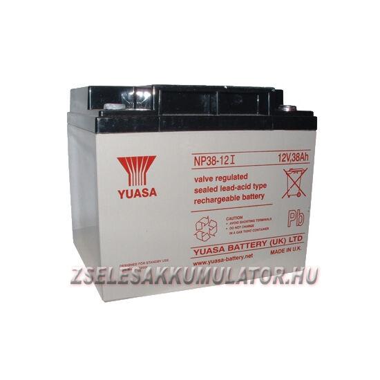 Yuasa 12V 38Ah Zselés akkumulátor
