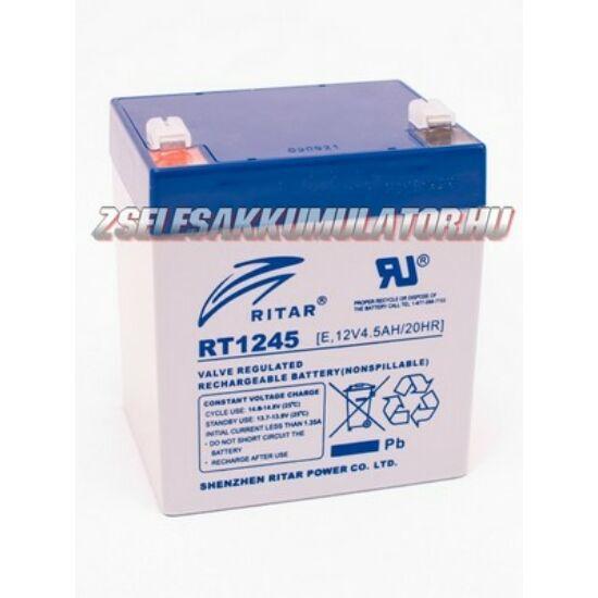 Ritar 12V 4,5Ah Zselés akkumulátor