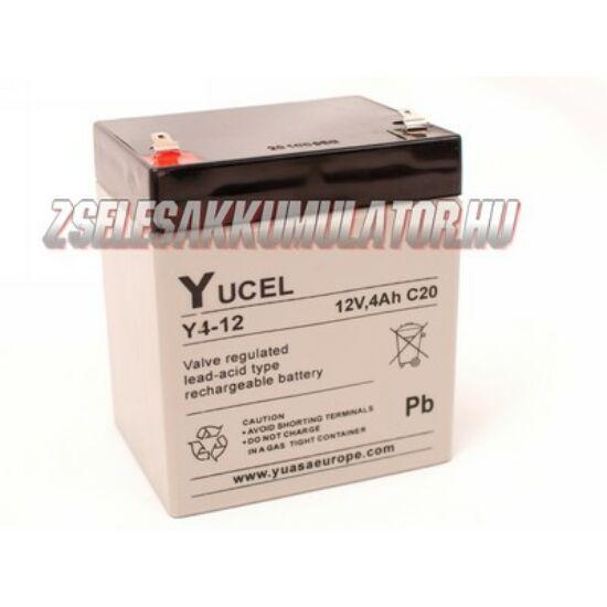 Yuasa 12V 4Ah Zselés akkumulátor