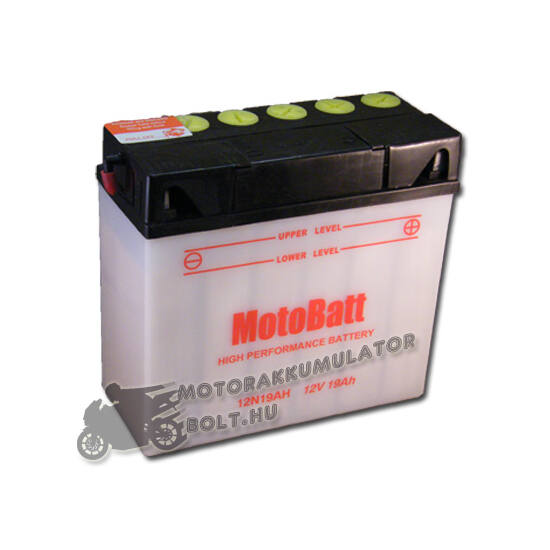 MotoBatt 12N19AH BMW 12V 19Ah Motor akkumulátor