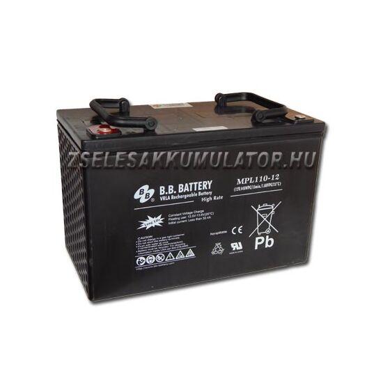 BB Battery 12V 110Ah Zselés akkumulátor