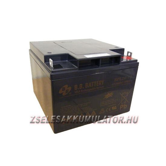 BB Battery 12V 26Ah Zselés akkumulátor BPL-26-12