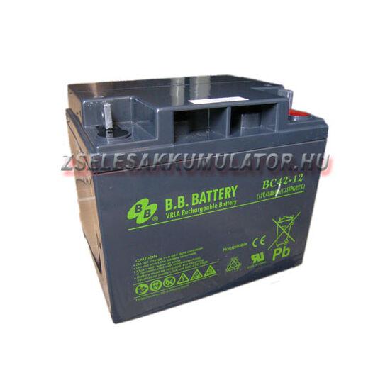 BB Battery 12V 42Ah Zselés akkumulátor
