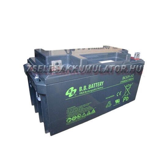 BB Battery 12V 65Ah Zselés akkumulátor