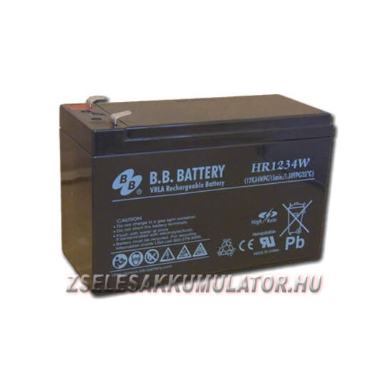 BB Battery 12V 8,5Ah  Zselés akkumulátor HRC1234W