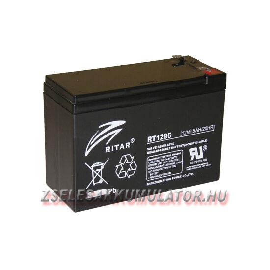 Ritar 12V 9,5Ah Zselés akkumulátor