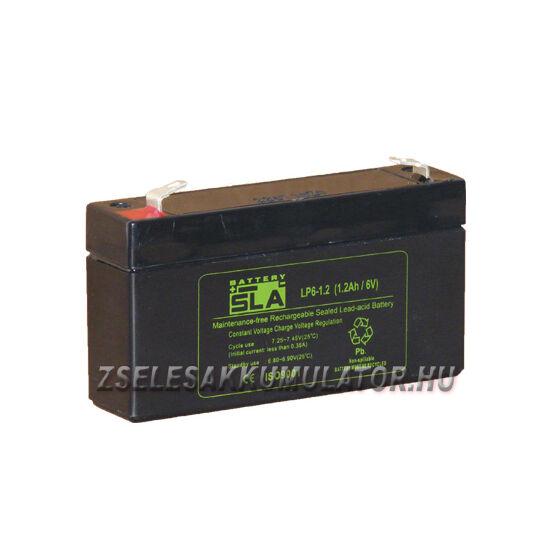 APC SLA 6V 1,2Ah Zselés akkumulátor