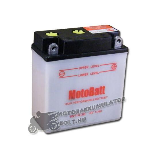 MotoBatt  6N11A-3B 6V 11Ah Motor akkumulátor