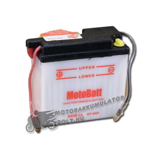 MotoBatt  6N4B-2A 6V 4Ah Motor akkumulátor