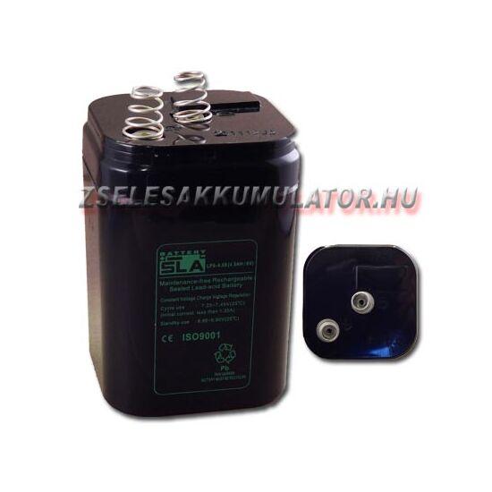 APC SLA 6V 4Ah Zselés akkumulátor rugós csatlakozóval