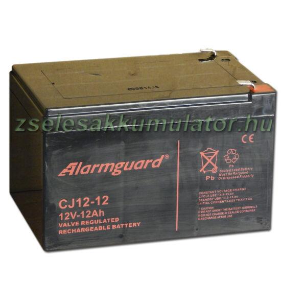 Alarmguard 12V 12Ah Zselés akkumulátor CJ 12-12