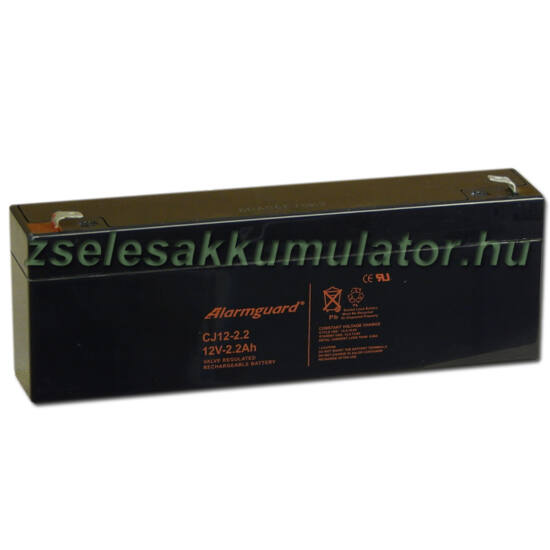 Alarmguard 12V 2,2Ah Zselés akkumulátor CJ 12-2,2