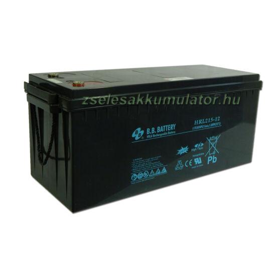 BB Battery 12V 215Ah Zselés akkumulátor HRL215-12