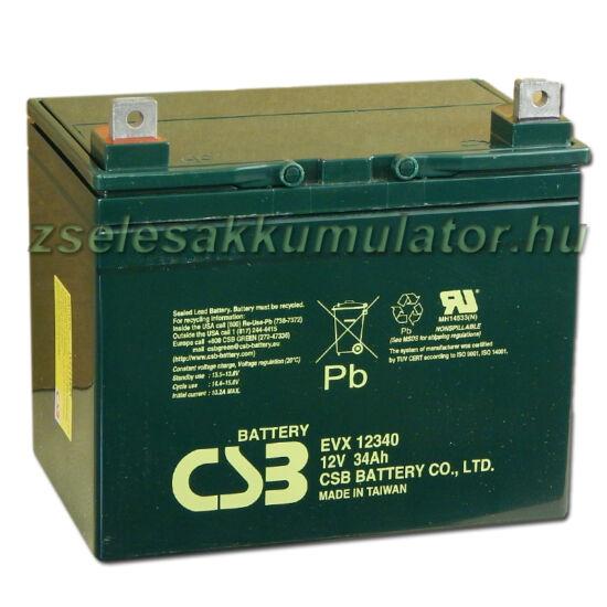 CSB 12V 34Ah Zselés Akkumulátor EVX 12340