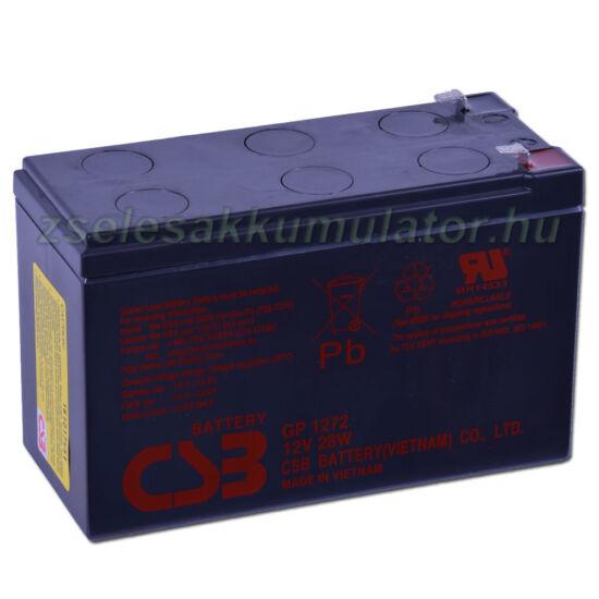 CSB 12V 7,2Ah Zselés Akkumulátor GP 1272 F1