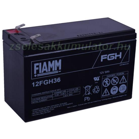 Fiamm 12FGH36 nagyáramú ciklikus akkumulátor 12V 9Ah