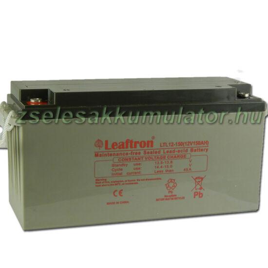 Leaftron 12V 150Ah Zselés akkumulátor LTL12-150