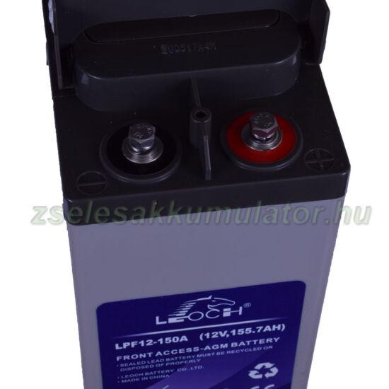 Leoch 12V 150Ah Zselés akkumulátor LPF12-150A