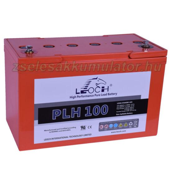 Leoch 12V 100AH LPH100 nagy áramú akkumulátor_1