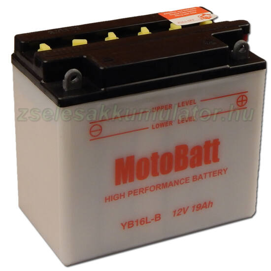 MotoBatt YB16L-B 12V 19Ah Motor akkumulátor