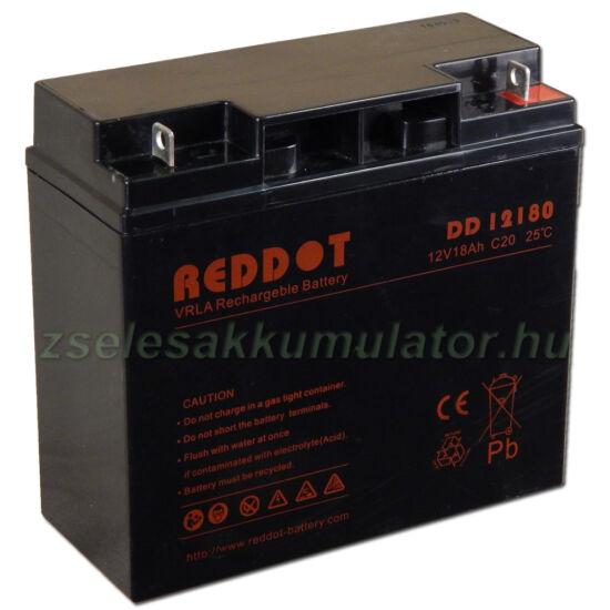 RedDot 12V 18Ah Zselés akkumulátor