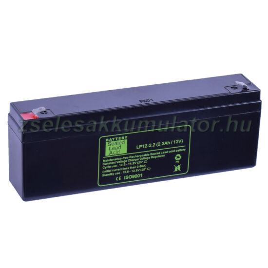 SLA 12V 2,2Ah Zselés akkumulátor