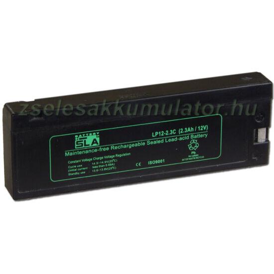 SLA 12V 2,3 Ah Zselés akkumulátor LP12-2.3C