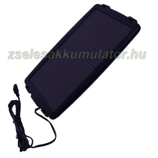 Szolár napelemes töltő 12V 2,4W