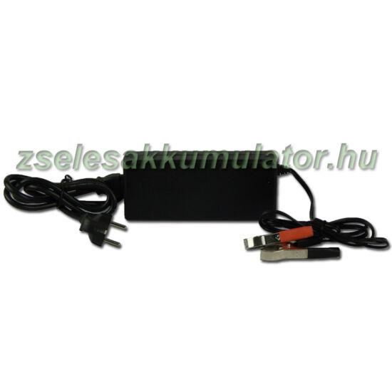 Zselés akkumulátor töltő 24V 3A töltőáram