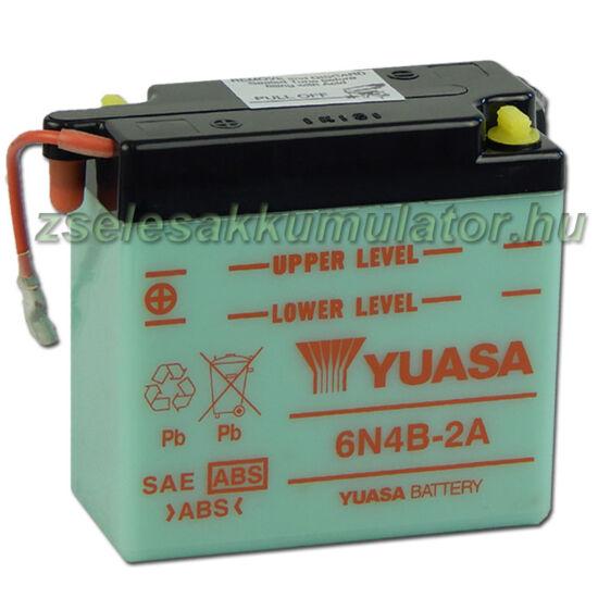 Yuasa 6N4B-2A 6V 4Ah Motor akkumulátor