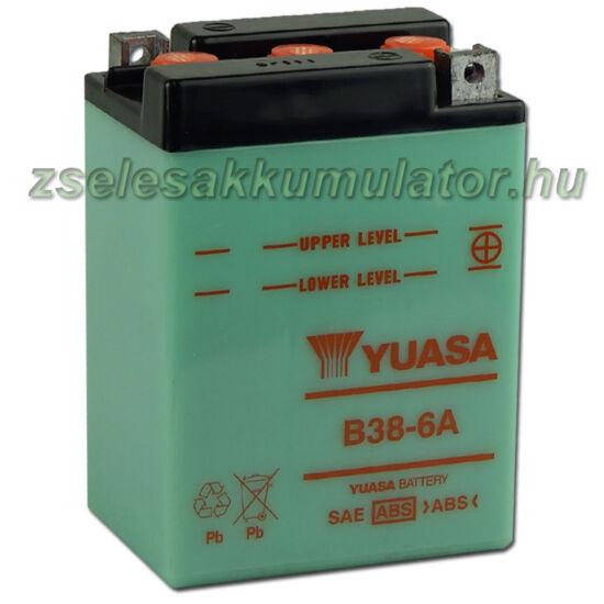 Yuasa B38-6A 6V 13Ah Motor akkumulátor