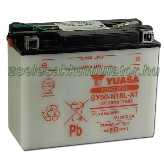 Yuasa SY50-N18L-AT 12V 20Ah Motor akkumulátor
