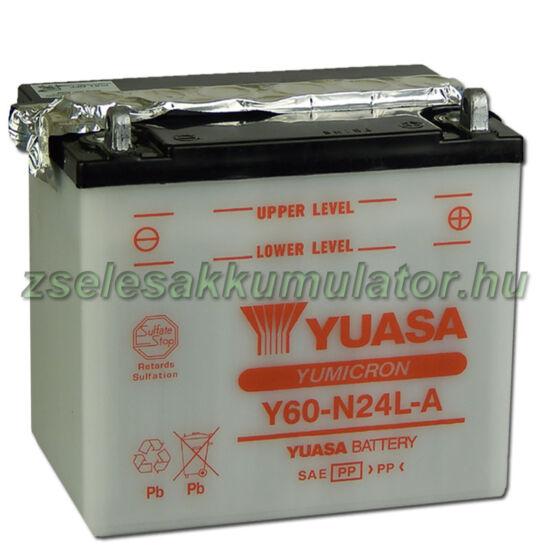 Yuasa Y60-N24L-A 12V 28Ah Motor akkumulátor
