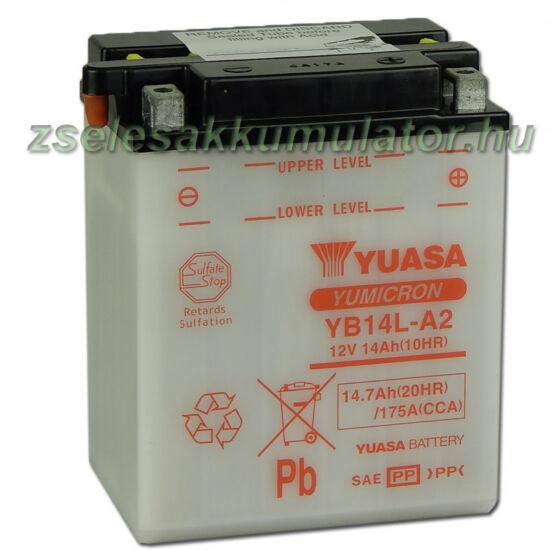 Yuasa YB14L-A2 12V 14Ah Motor akkumulátor