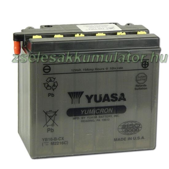 Yuasa YB16B-CX 12V 19Ah Motor akkumulátor
