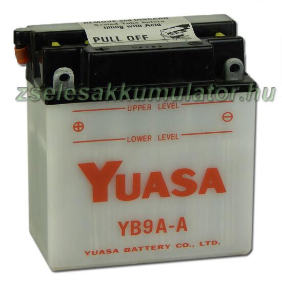 Yuasa YB9A-A 12V 9Ah Motor akkumulátor