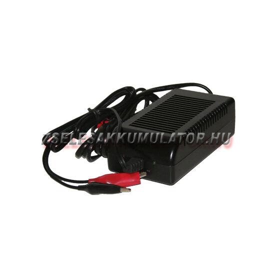 Zselés akkumulátor töltő 12V 4A töltőáram