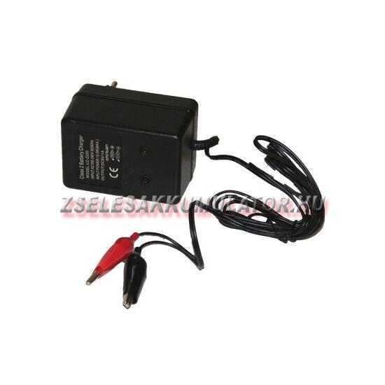 Zselés akkumulátor töltő 6V 2A töltőáram