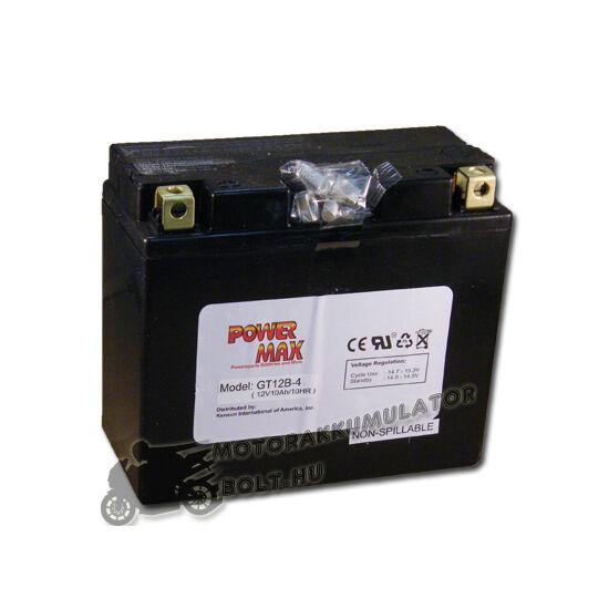 Power Max GT12B-4 12V 11Ah Motor akkumulátor