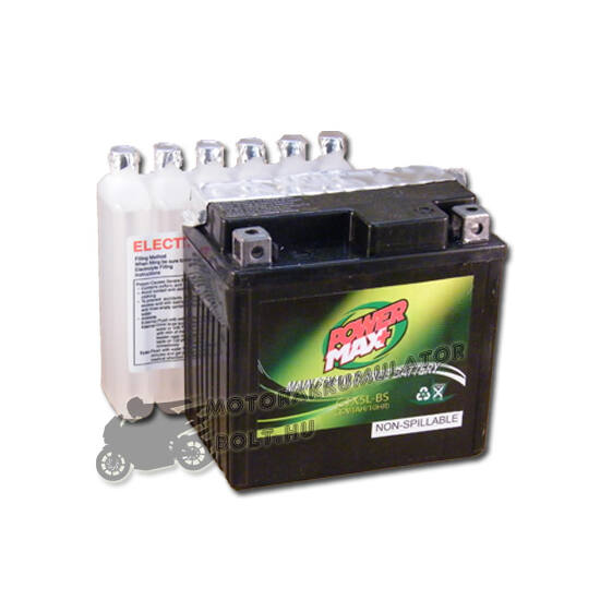 Power Max GTX5L-BS 12V 4Ah Motor akkumulátor