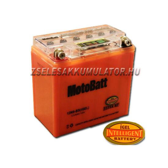 MotoBatt IGEL 12N9-BS I-GEL (YB9-B) 12V 9Ah Motor akkumulátor