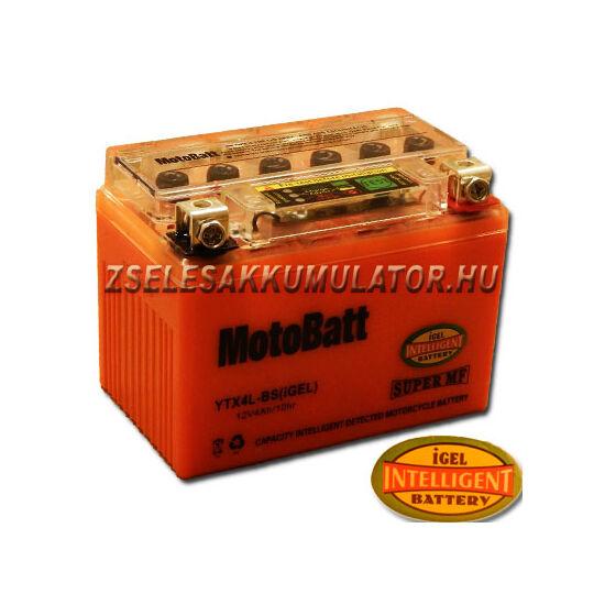 MotoBatt IGEL YTX4L-BS I-GEL 12V 4Ah Motor akkumulátor