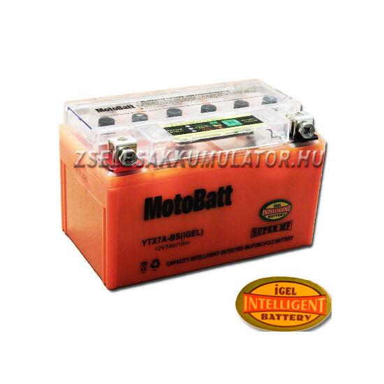 MotoBatt IGEL YTX7A-BS I-GEL 12V 7Ah Motor akkumulátor