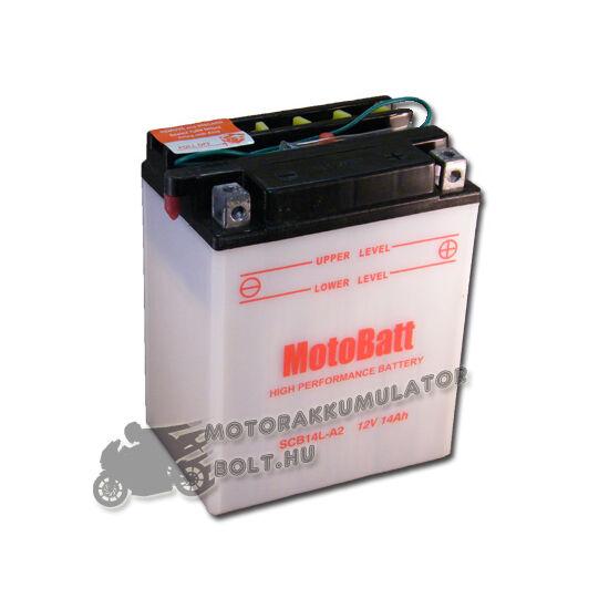 MotoBatt SCB14L-A2 12V 14Ah Motor akkumulátor